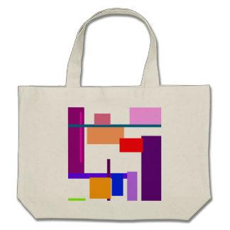 Artistic Minimal Art Tote Bags
