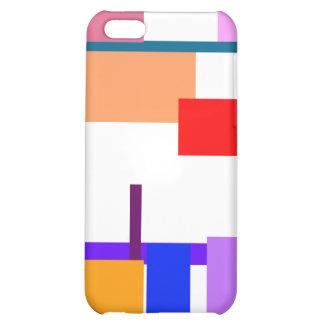 Artistic Minimal Art iPhone 5C Cases