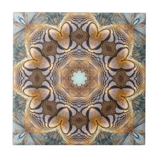 Artistic Mosaic Nature Pattern Ceramic Tile
