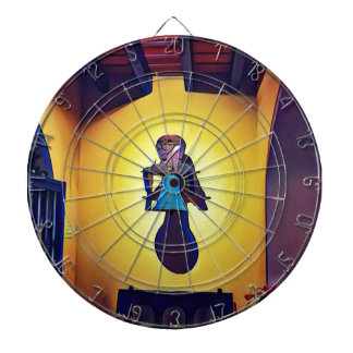 Artistic Mounted Bell Naive Of Church Dartboard