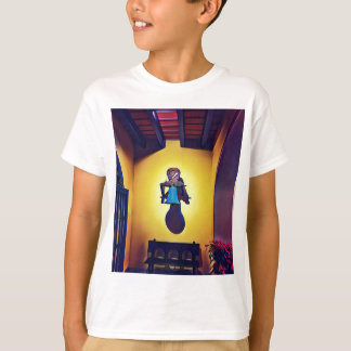 Artistic Mounted Bell Naive Of Church T-Shirt