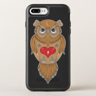 Artistic Owl OtterBox Symmetry iPhone 7 Plus Case