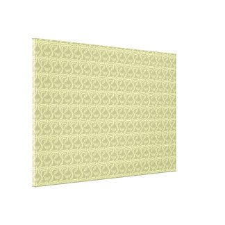 artistic pattern yellow canvas prints