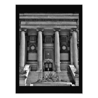 Artistic Pillars Photo Print