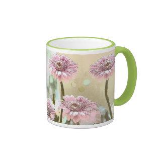 Artistic Pink & Pastels Gerbera Daisies Mug