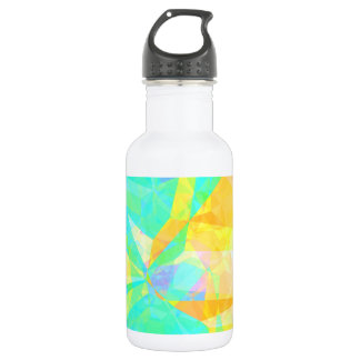 Artistic Polygon Painting Abstract Background Art 532 Ml Water Bottle
