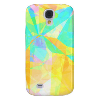 Artistic Polygon Painting Abstract Background Art Galaxy S4 Case