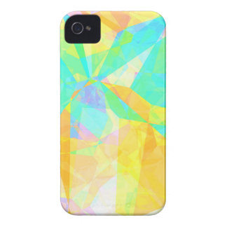 Artistic Polygon Painting Abstract Background Art iPhone 4 Case-Mate Case