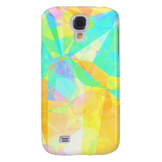 Artistic Polygon Painting Abstract Background Art Samsung Galaxy S4 Case