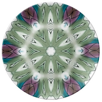 Artistic Porcelain Plate