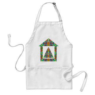 Artistic Pyramid House Aprons