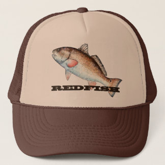 Artistic Redfish Trucker Hat