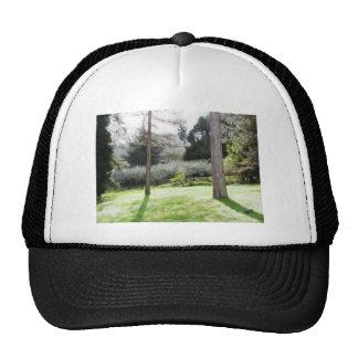 Artistic representation of tuscan countryside cap