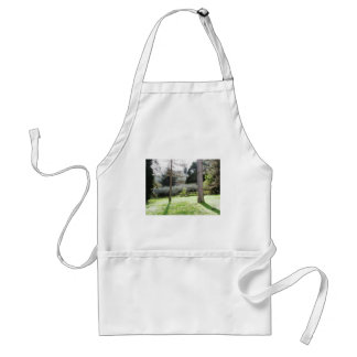 Artistic representation of tuscan countryside standard apron