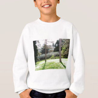 Artistic representation of tuscan countryside sweatshirt