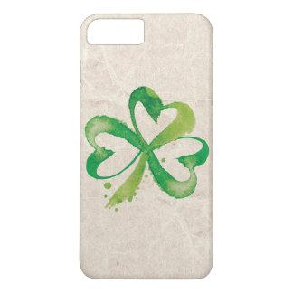 Artistic Shamrock Brushstrokes iPhone 8 Plus/7 Plus Case