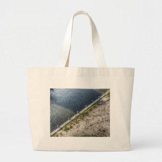 Artistic Shore Large Tote Bag