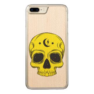 Artistic Skull Illustration Carved iPhone 8 Plus/7 Plus Case