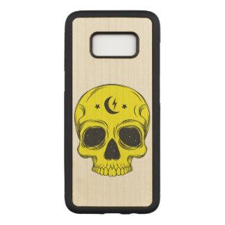 Artistic Skull Illustration Carved Samsung Galaxy S8 Case