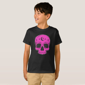 Artistic Skull (pink) T-Shirt