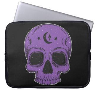 Artistic Skull (purple) Laptop Sleeve