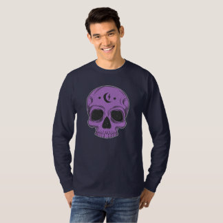 Artistic Skull (purple) T-Shirt