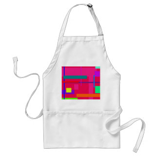 Artistic Space Red Standard Apron