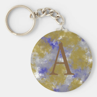 Artistic Spotted Key Chain
