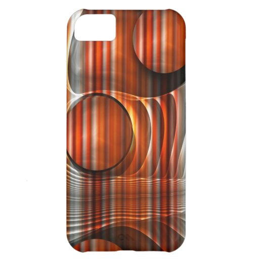 Artistic striped abstract iPhone 5 case