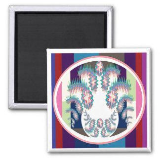 Artistic Superstar Leo - Zodiac Astro Symbol Fridge Magnets