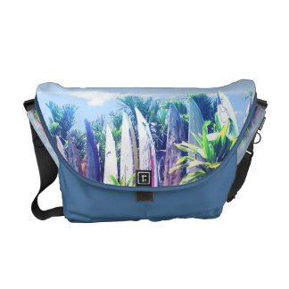 Artistic Surfboard Fence Commuter Bags