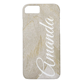 Artistic Swan Feathers iPhone 8/7 Case
