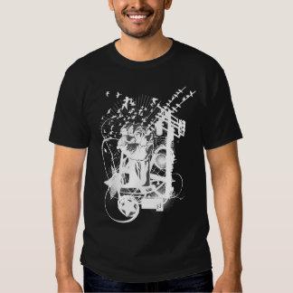 Artistic Urban Style Fist Artistic Illustration Shirt