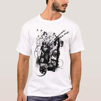 Artistic Urban Style Fist Artistic Illustration. T-Shirt