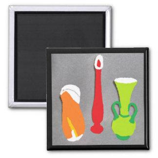 Artistic Vase Magnet