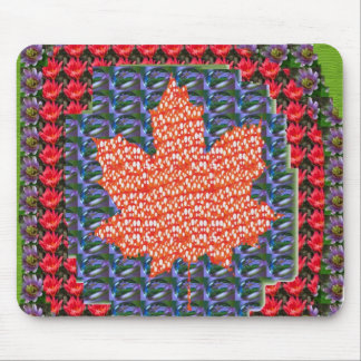 ARTISTIC vers PROUD Canadian MAPLE LEAF lowprice Mouse Pad