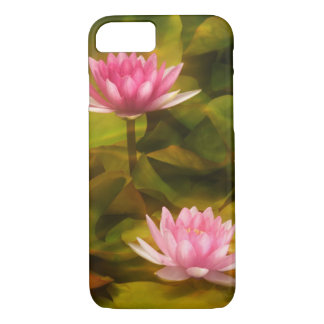 Artistic water lilies, California iPhone 8/7 Case