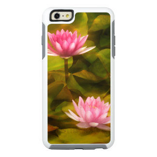 Artistic water lilies, California OtterBox iPhone 6/6s Plus Case
