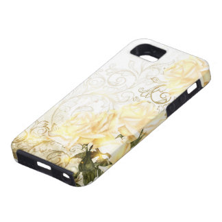 Artistic Yellow Roses Tough iPhone SE Case