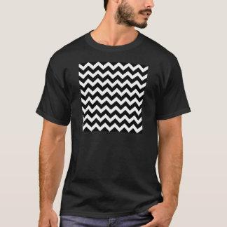 Artistic zigzag Black and white T-Shirt
