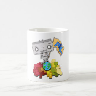 Artists 4 Life Robot Coffee Mug