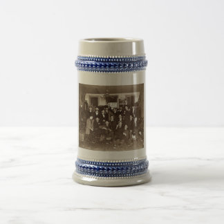 Artists and Friends of John French Sloan in Studio Beer Stein