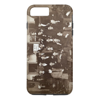 Artists and Friends of John French Sloan in Studio iPhone 7 Plus Case