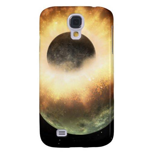 Artist's concept of a celestial body galaxy s4 case