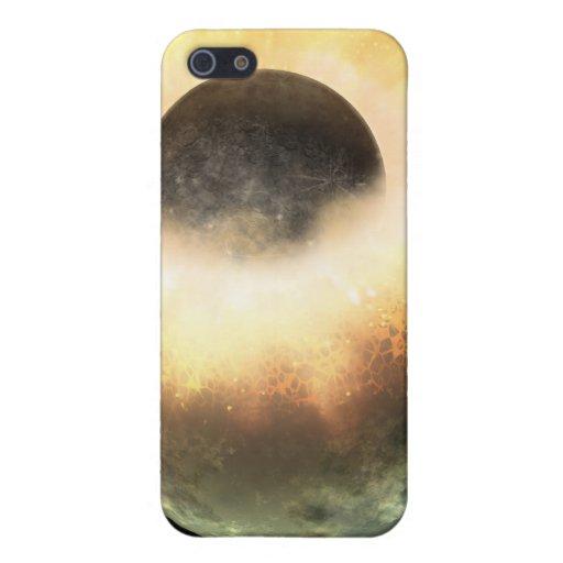 Artist's concept of a celestial body iPhone 5 case