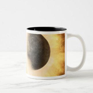 Artist's concept of a celestial body mug