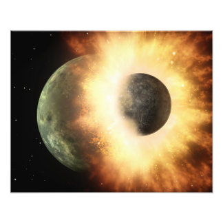 Artist's concept of a celestial body photo art