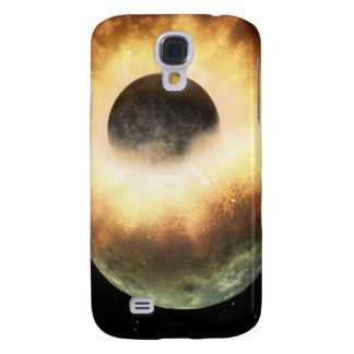 Artist's concept of a celestial body samsung galaxy s4 cover