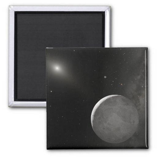 Artist's concept of Kuiper Belt object Magnet