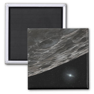 Artist's Conception of a Kuiper Belt Object Square Magnet